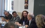 Edmond Simeoni et les fondateurs à l'Université de Corte, ce mois de juillet