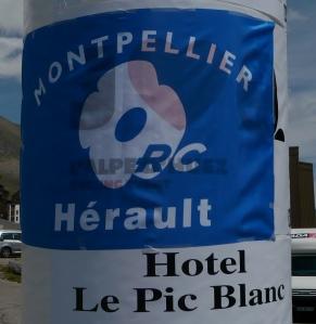 Et une petite pub pour l'hôtel qui accueille les champions du rugby
